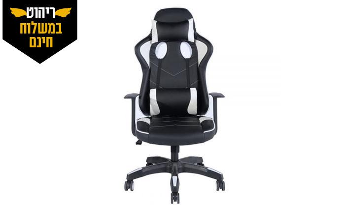 6 כיסא גיימינג Homax דגם אופיולנט - משלוח חינם