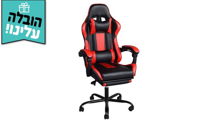 2 כיסא גיימינג Homax דגם בליס עם הדום נשלף - משלוח חינם