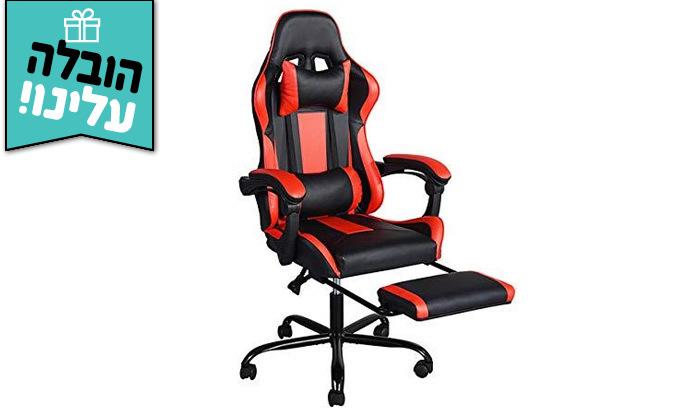 4 כיסא גיימינג Homax דגם בליס עם הדום נשלף - משלוח חינם