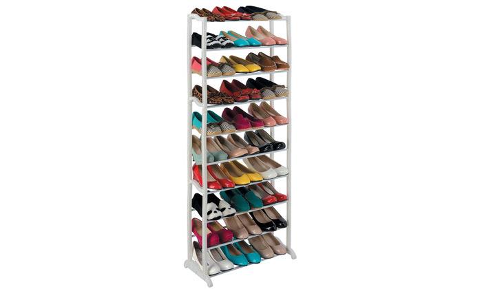 2 מתקן אחסון נעליים