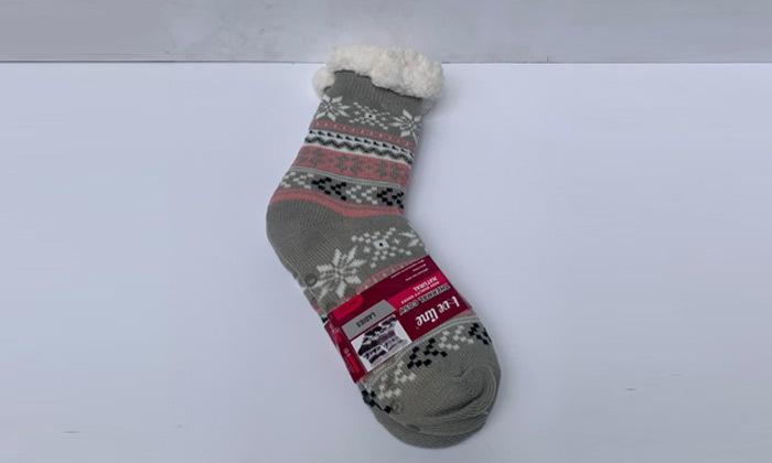 6 מארז 2 זוגות גרביים עבים אנטי סליפ לנשים או לילדים לבחירה