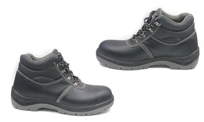 2 נעלי עבודה עם הגנת ברזל S3 לגברים ולנוער