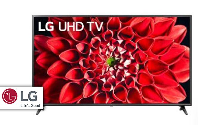 2 טלוויזיה חכמה בגודל 55 אינץ' SMART 4K LG LED