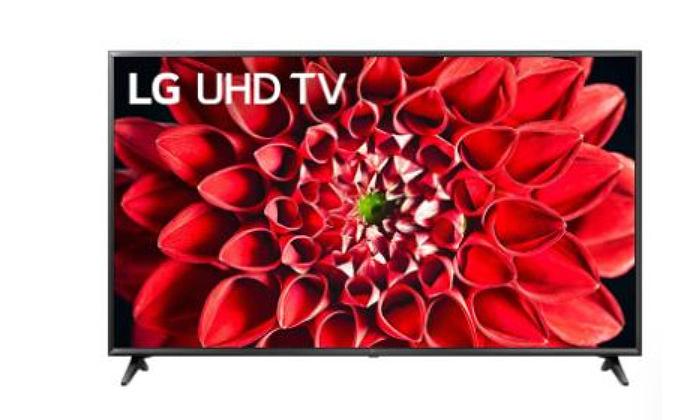 3 טלוויזיה חכמה בגודל 55 אינץ' SMART 4K LG LED