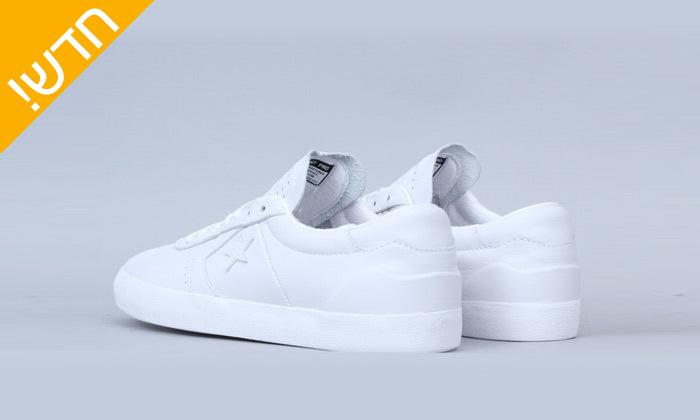 3 נעלי סניקרס לגברים מעור All Star CONVERSEbreak point