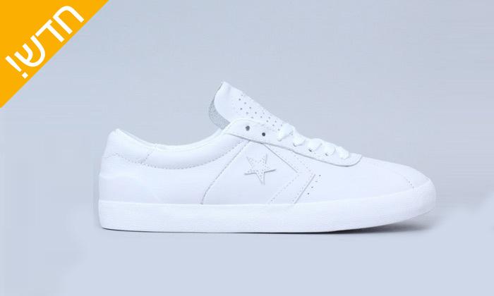2 נעלי סניקרס לגברים מעור All Star CONVERSEbreak point