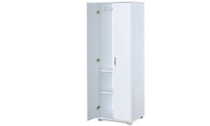 2 רהיטי יראון: ארון תלייה 2 דלתות עם 2 מדפים