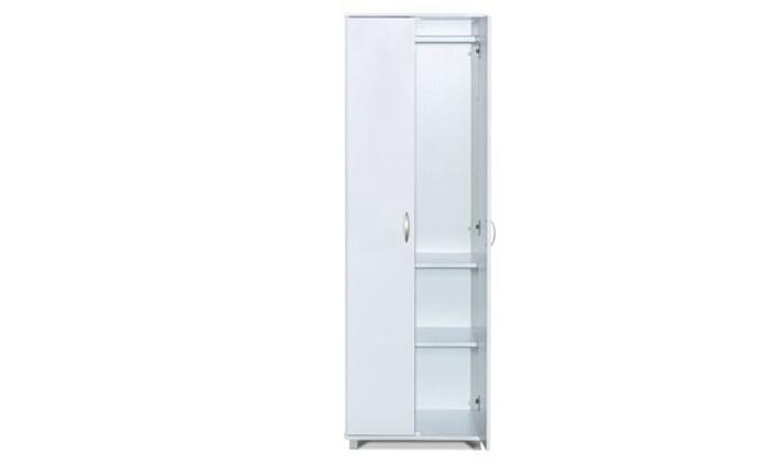4 רהיטי יראון: ארון תלייה 2 דלתות עם 2 מדפים