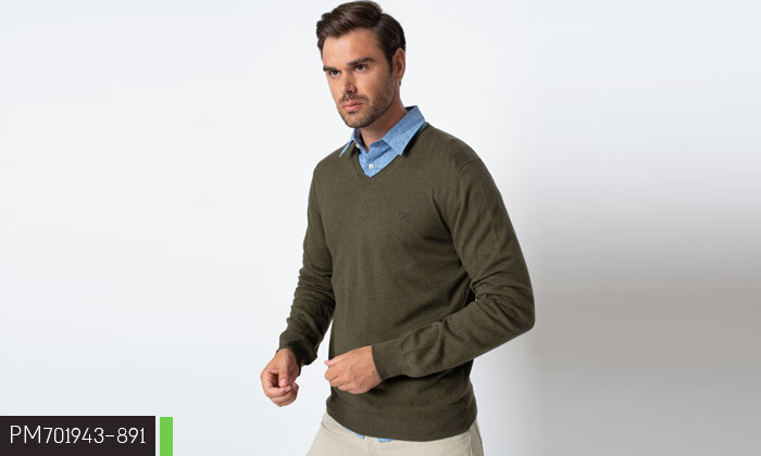 5 2 סריגים לגברים פפה ג'ינס Pepe Jeans - משלוח חינם