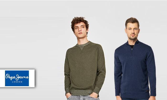 2 2 סריגים לגברים פפה ג'ינס Pepe Jeans - משלוח חינם