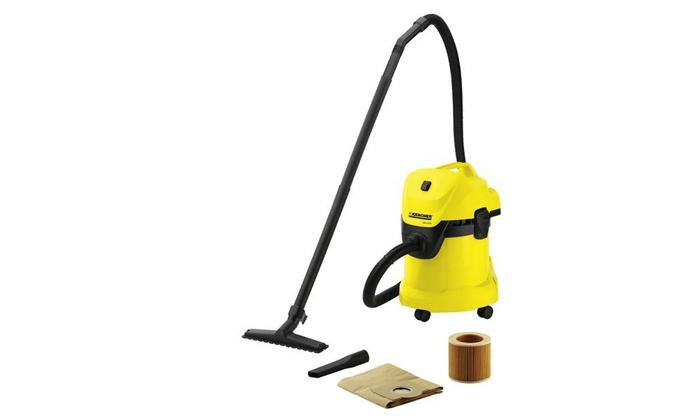 2 שואב אבק ביתי יבש/רטוב כולל מפוח KARCHER