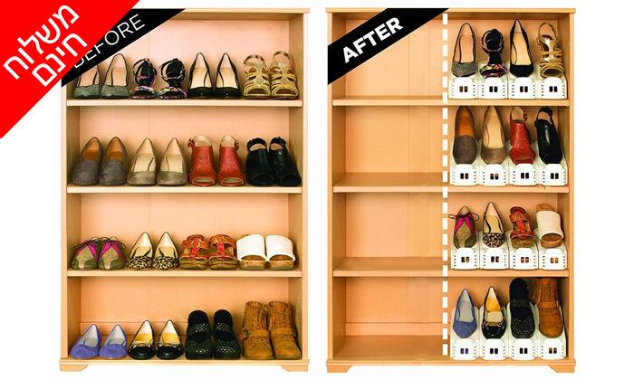 3 מכפיל מקום לנעלייםבמגוון מארזים לבחירה - משלוח חינם