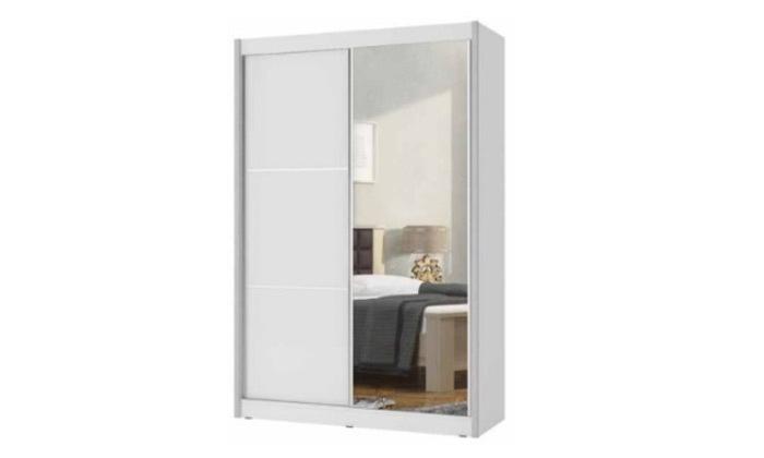 2 ארון הזזה 2 דלתות עם מראה House design, דגם הנרי