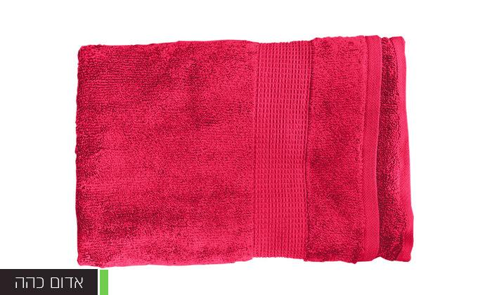 5 סט 3 מגבות גוף Zero Twistעשויות 100% כותנה