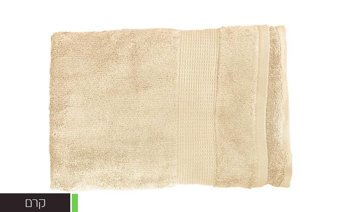 7 סט 3 מגבות גוף Zero Twistעשויות 100% כותנה