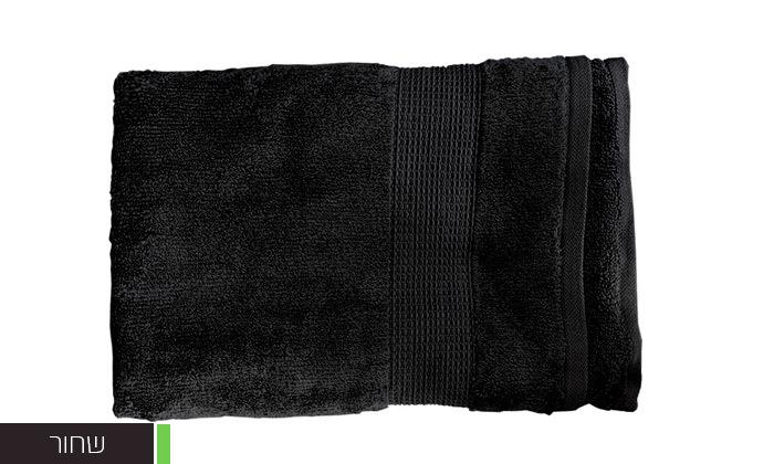 8 סט 3 מגבות גוף Zero Twistעשויות 100% כותנה