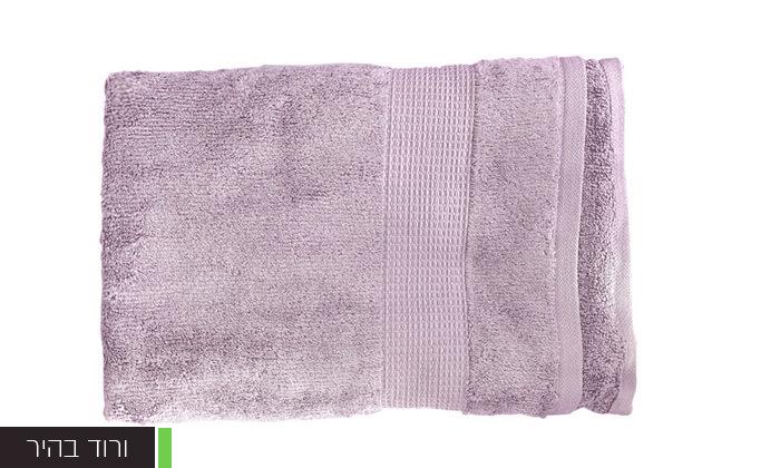 10 סט 3 מגבות גוף Zero Twistעשויות 100% כותנה