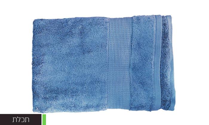 11 סט 3 מגבות גוף Zero Twistעשויות 100% כותנה