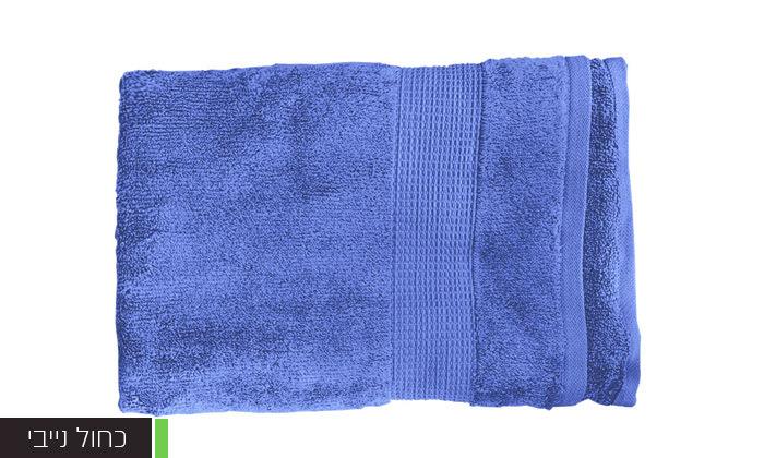 13 סט 3 מגבות גוף Zero Twistעשויות 100% כותנה