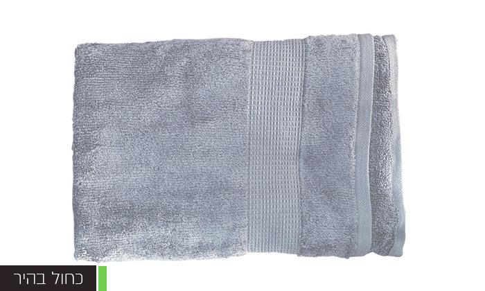 16 סט 3 מגבות גוף Zero Twistעשויות 100% כותנה