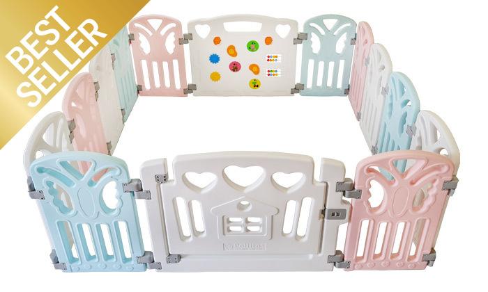 4 גדר פעילות לילדים ולתינוקות דגם pino