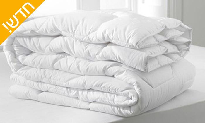 3 שמיכת פוך Nicoletti למיטת יחיד, כולל שקית ואקום רב פעמית