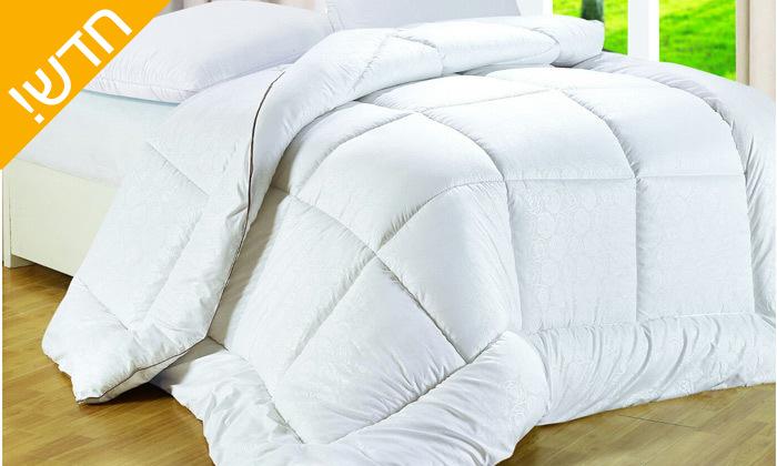 2 שמיכת פוך Nicoletti למיטת יחיד, כולל שקית ואקום רב פעמית