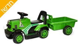 טרקטור ממונע 6V עם עגלה