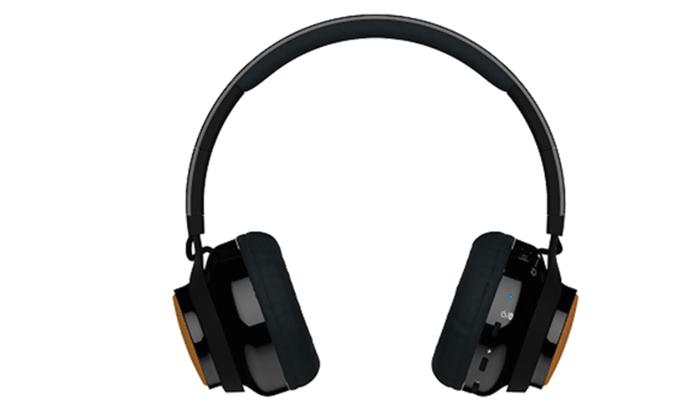 2 אוזניות אלחוטיות משולבות רמקולים X-Mini דגם EVOLVE