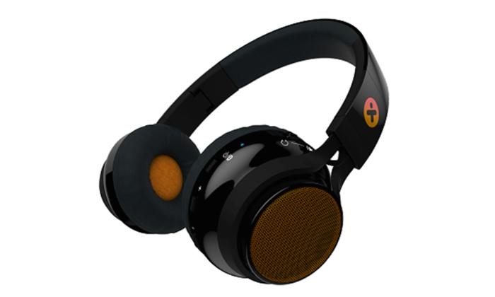 3 אוזניות אלחוטיות משולבות רמקולים X-Mini דגם EVOLVE