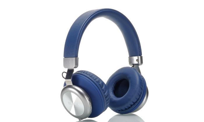2 אוזניות אלחוטיות BLACK בצבע כחול