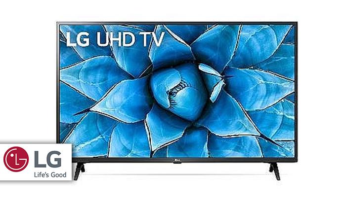 2 טלוויזיה חכמה LG 4K, מסך 50 אינץ'