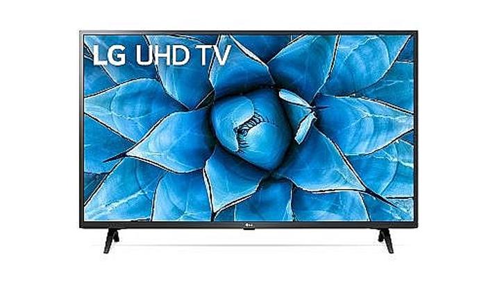 3 טלוויזיה חכמה LG 4K, מסך 50 אינץ'