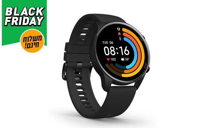 4 שעון ספורט חכם Xiaomi דגם Mi Watch GPS - משלוח חינם