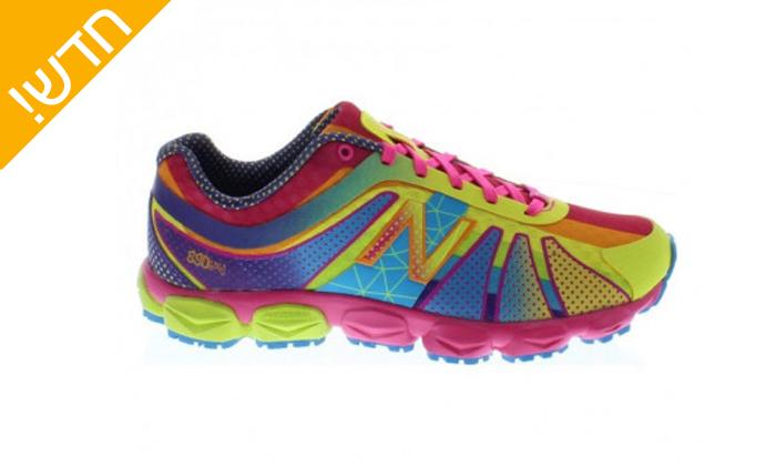 2 נעלי ריצה לנשים ונוער ניו באלאנס New Balance