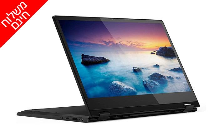 3 מחשב נייד Lenovo עם מסך מגע מתהפך 14 אינץ' - משלוח חינם