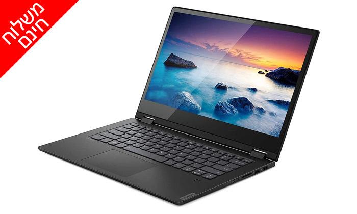 4 מחשב נייד Lenovo עם מסך מגע מתהפך 14 אינץ' - משלוח חינם