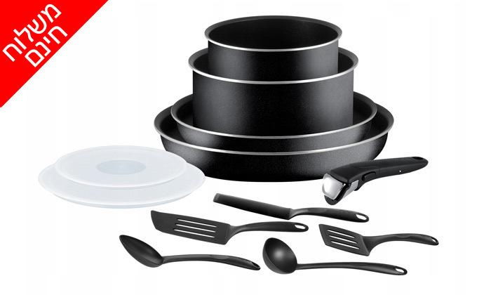 3 סט כלי בישול ומטבחTEFAL