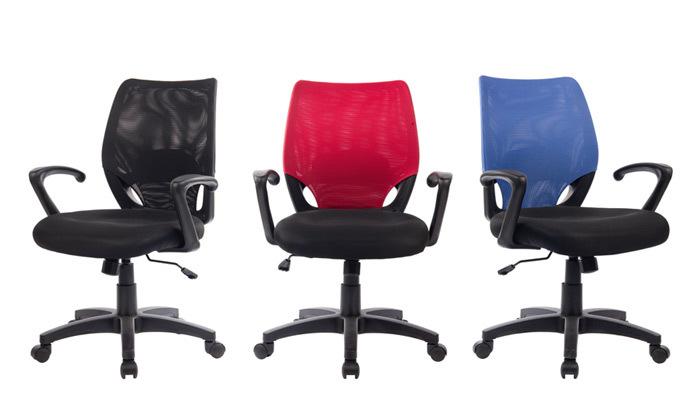 2 כיסא משרדי ארגונומי Mobel דגםRotem