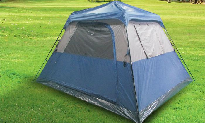 2 אוהל פתיחה מהירה ל-6 אנשיםSWISS CAMP