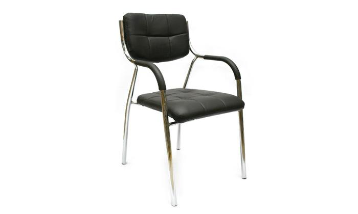 3 זוג כיסאות אורח למשרד עם ידיות מבית ROSSO ITALY