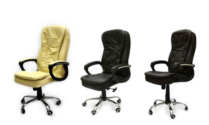 2 כיסא מנהל אורתופדי מבית ROSSO ITALY דגם MSH-1-79