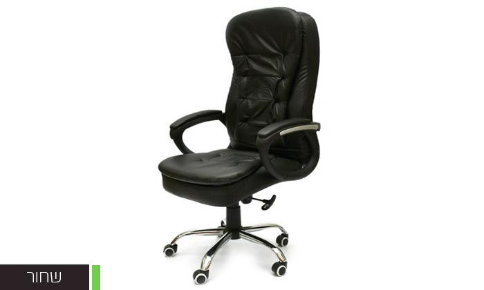 3 כיסא מנהל אורתופדי מבית ROSSO ITALY דגם MSH-1-79