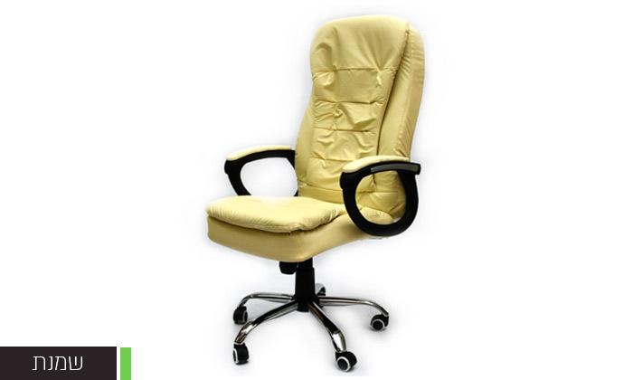 4 כיסא מנהל אורתופדי מבית ROSSO ITALY דגם MSH-1-79