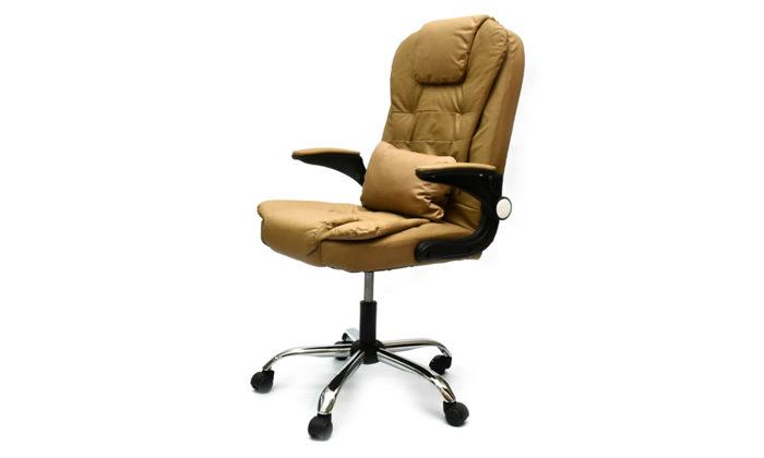 2 כיסא מנהל אורתופדי רוטט מבית ROSSO ITALY דגם MSH-1-82