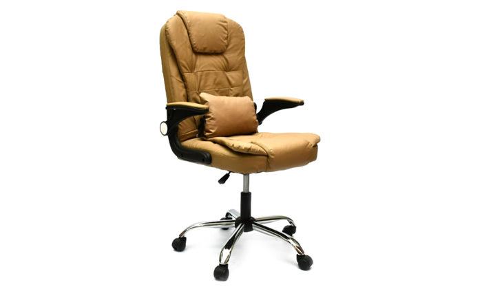4 כיסא מנהל אורתופדי רוטט מבית ROSSO ITALY דגם MSH-1-82