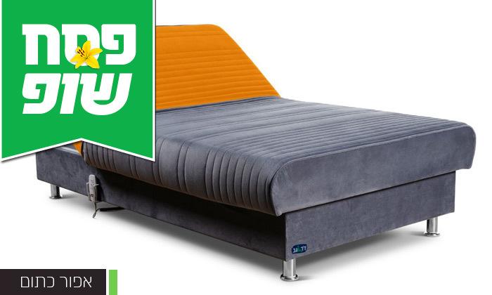 4 מיטת נוער מתכווננת חשמלית ברוחב וחצי דגם PLAY