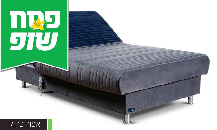 7 מיטת נוער מתכווננת חשמלית ברוחב וחצי דגם PLAY