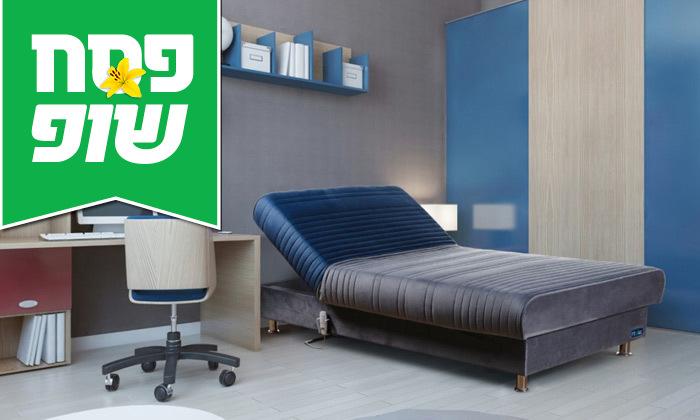 11 מיטת נוער מתכווננת חשמלית ברוחב וחצי דגם PLAY