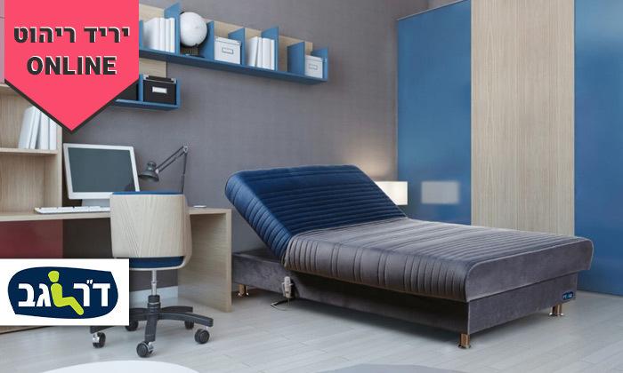 2 מיטת נוער מתכווננת חשמלית ברוחב וחצי דגם PLAY